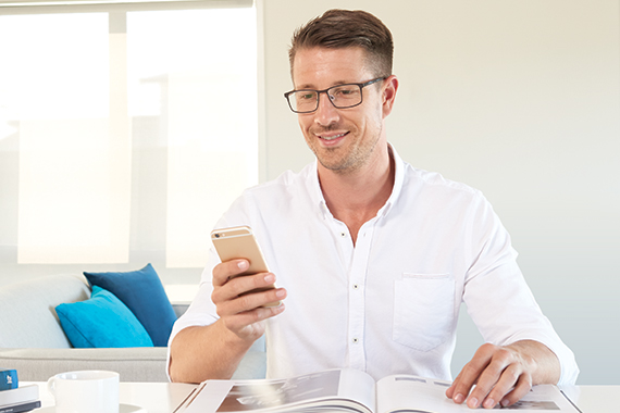 <p>Smooth access to mobile devices</p>